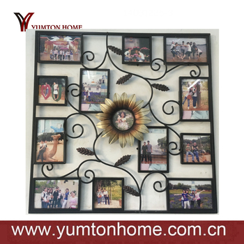 Metal Wall Home Decor Family Tree Photo Frame - Buy Photo Frame ...