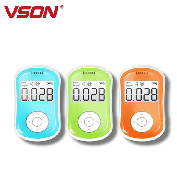2017 trending products Superior quality portable hcho pm voc gas detector with external sensor