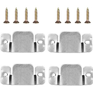 Mudder Universal Sectional Sofa Interlocking Sofa Connector Bracket with Screws