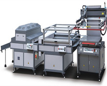 JB-3/4 semi-automatic Screen Printing and Dryer Production Line