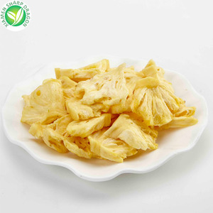Wholesale grade A delicious vacuum fried pineapple