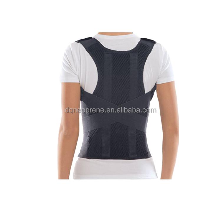Hot sale Adjustable Brace Support Back Posture Corrector, Customized color