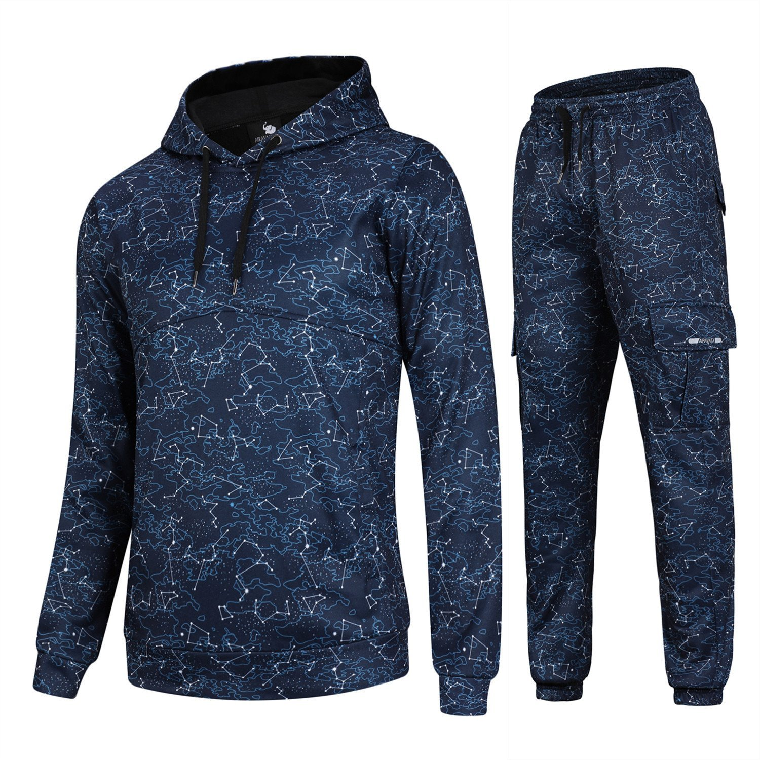 Xswsy XG Mens Casual Activewear Tracksuits 2 Pieces Jacket /& Pants Full Zip Jogging Sweatsuit