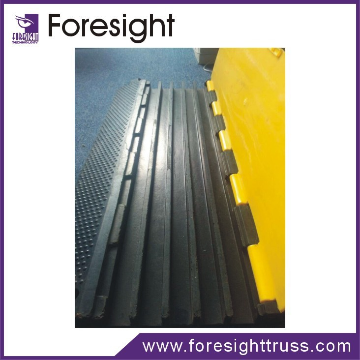 traffic rubber cable ramp road cable ramp for sale