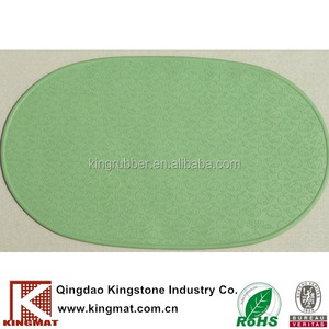 Hot tub hotel waterproof silicone rubber shower mat