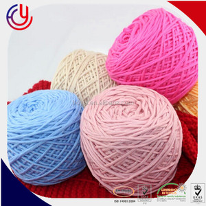 fancy novelty yarn of twisting cotton tape yarn fancy twisting for handmade crochet yarn