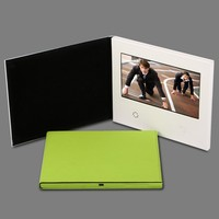 Invitation lcd video greeting card customized high quality 7 inch lcd