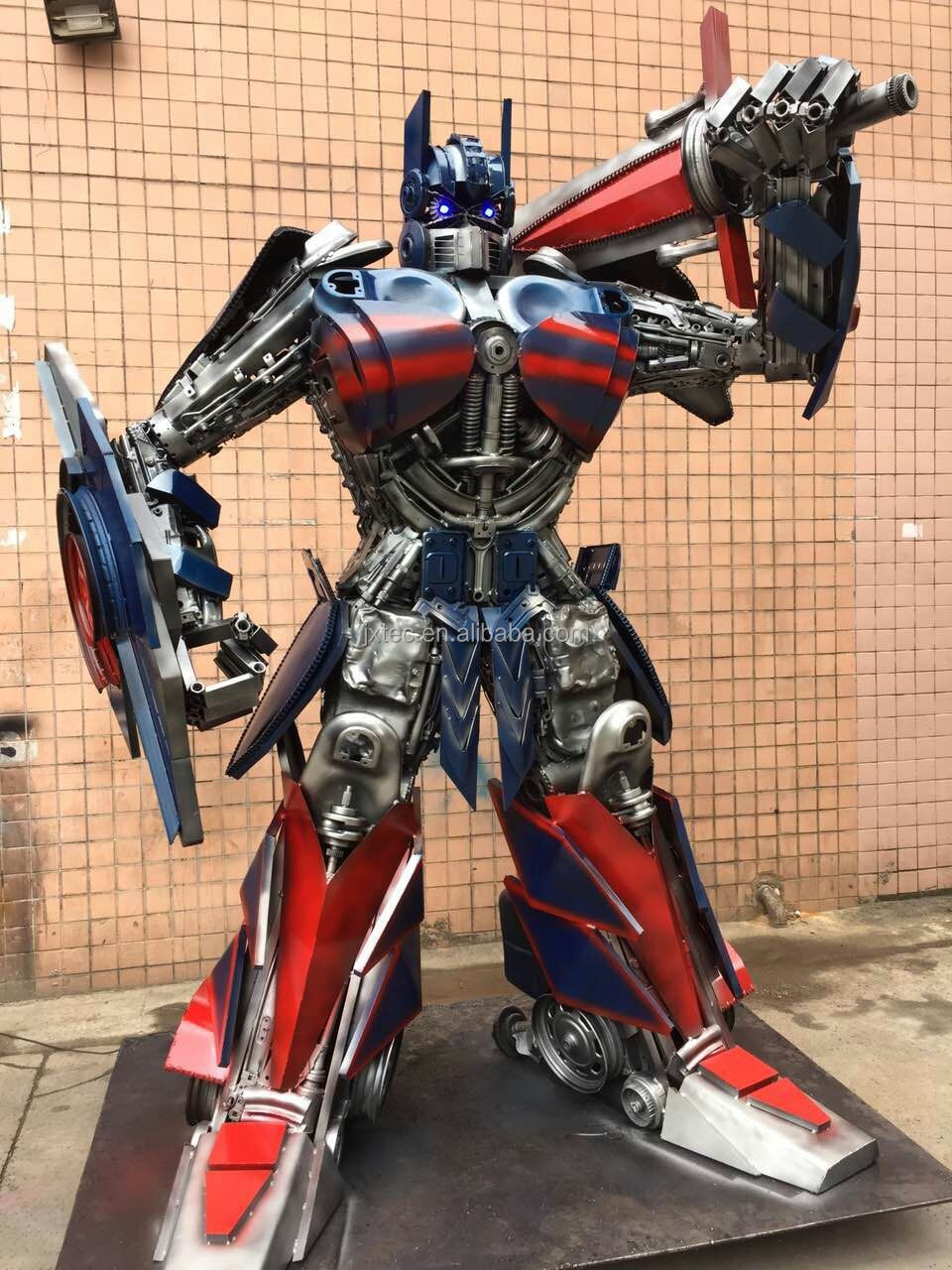 3 meters high Optimus prime made in china modern art sculpture
