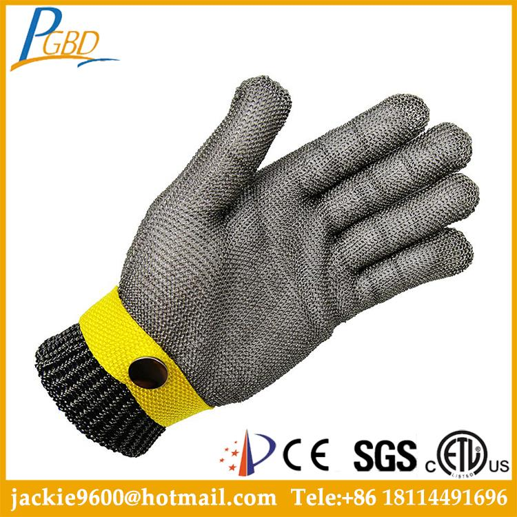 NJDJ- Factory supplier free easy skin tight nylon work glove