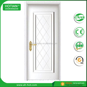 Australian White Pvc Film Coated Interior Mdf Wooden Flush Door