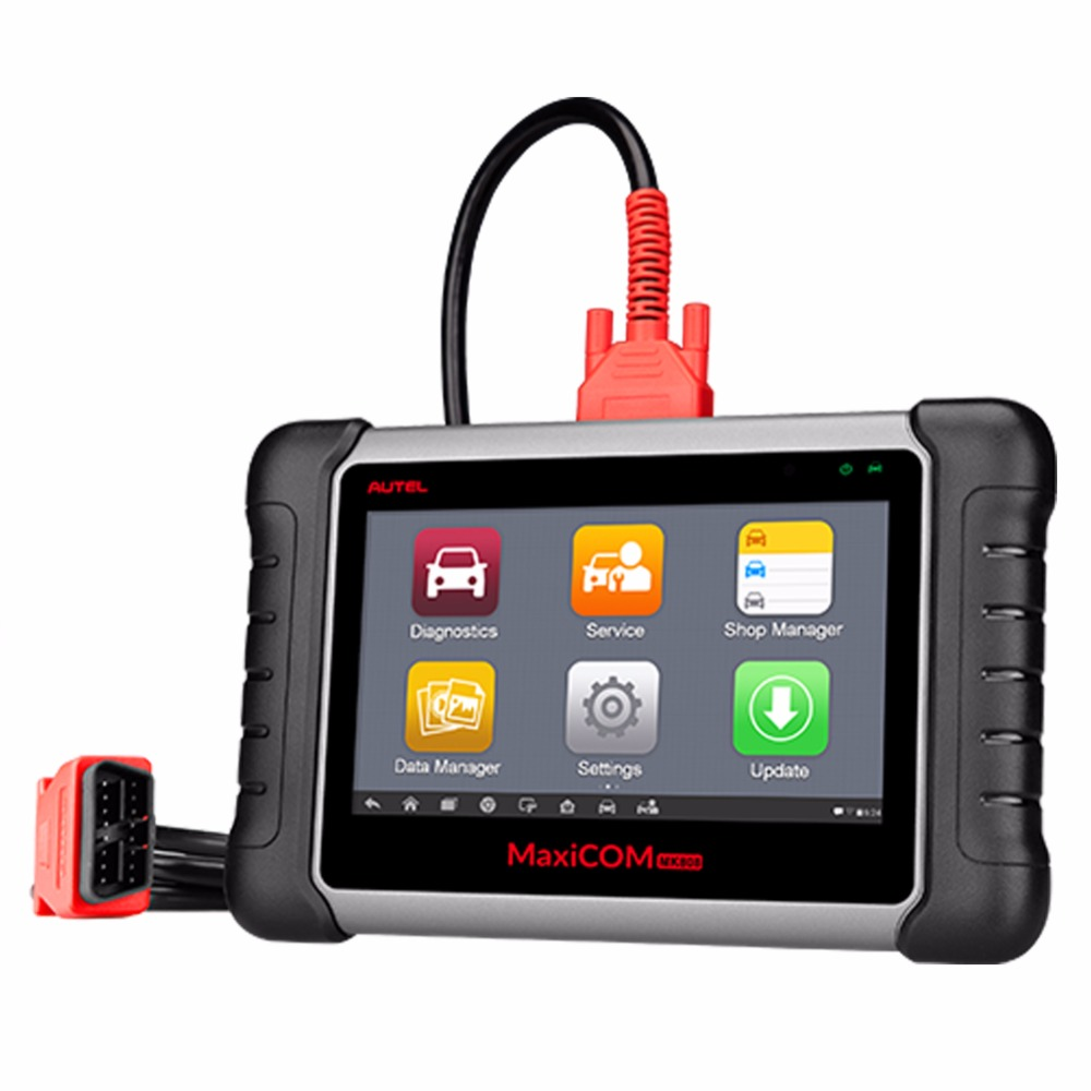 [AUTEL Distributeur] Autel MaxiCOM MK808 Scanner touch screen Android tablet Scanner Tool Code Reader voor OBD2 auto