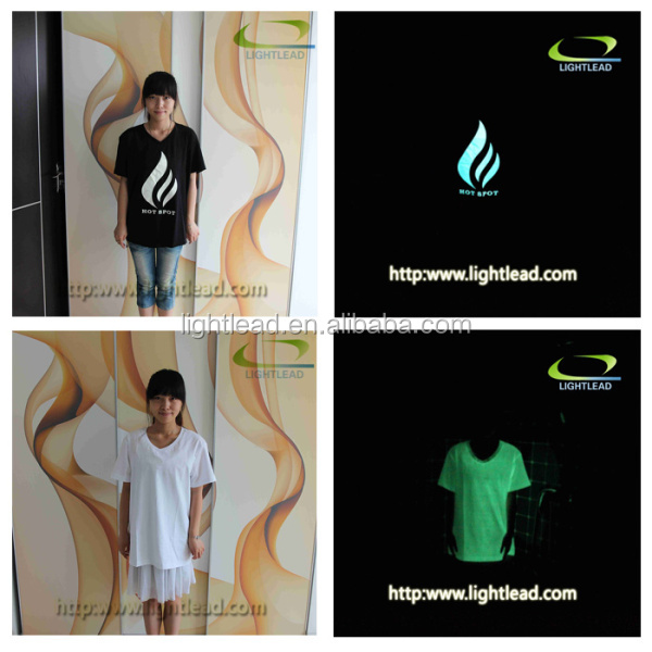 Glow in dark club ruffle raglan shirt
