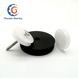 small plastic nylon/POM pulley as per your drawing