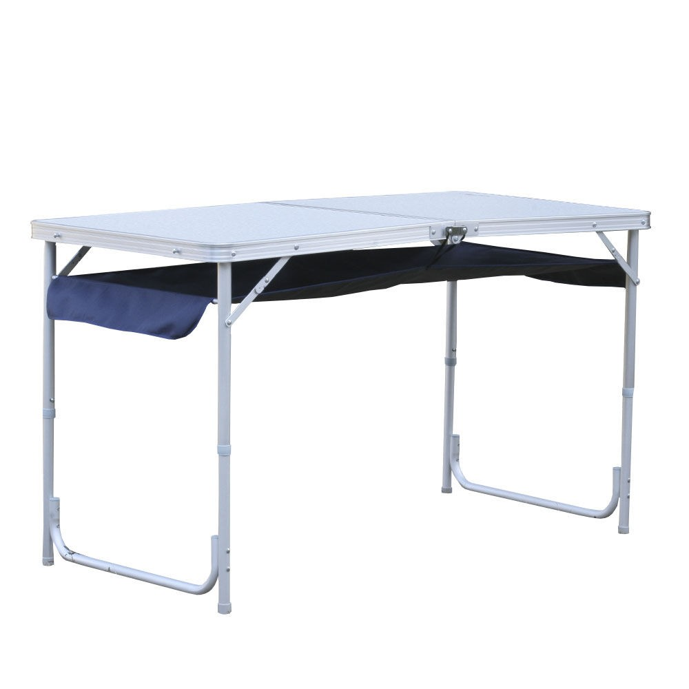 Aluminum 120 *60*70cm length dimension 2 person <strong>fold</strong> up camping table for picnic