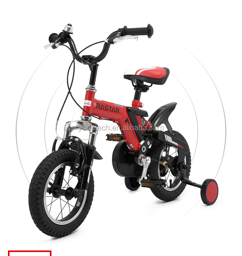 RSZ1201 Rubber Gear Brake used kids bicycle 12 inches Foot Pedal Driving 4 wheel bicycle for sale