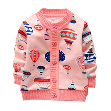 2016 New winter autumn infant baby girl cartoon sweater child sweaters baby sweater children outerwear sweaters