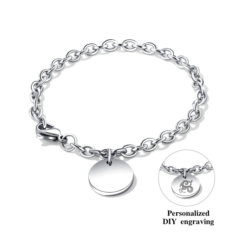 fadd6757f305 Marca replica cadena hacer su propia insignia suministros pulsera