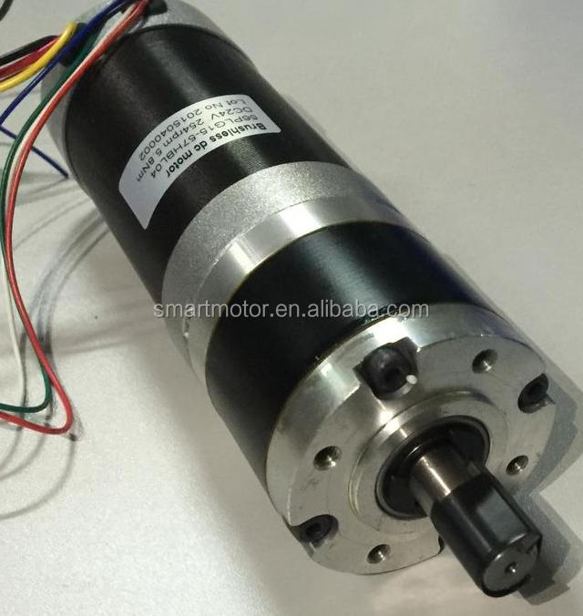 57mm 12v 24v 36v Brushless Dc Planetary Gear Motor