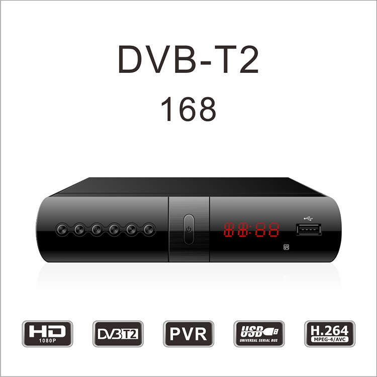 HD DVB-T2/S2/C digitale metro cercatore satellite set top box di Esportazione in Colombia Francia Slovacchia India Messico russia