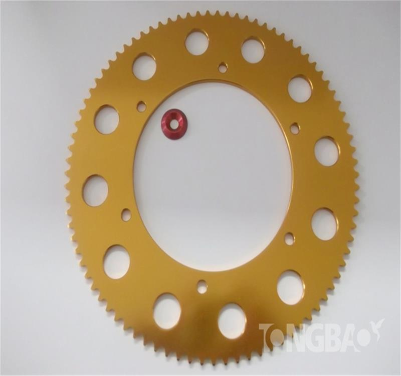 219 pitch sprocket Aluminum 7075-T6 Sprocket 270cc go kart