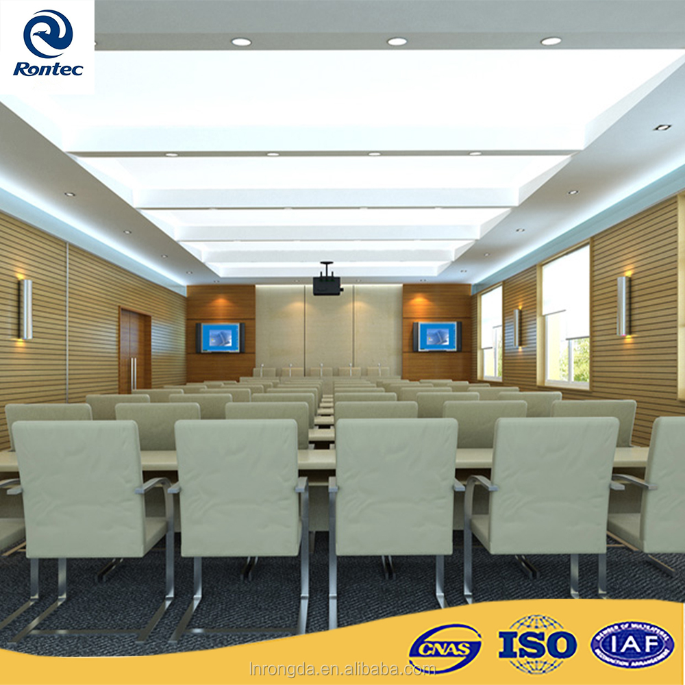 Acoustic panels noise reduction for conference room