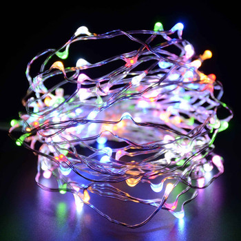 Outdoor Vintage Firefly Glimmer Dangling Furniture Decorative Ambience Christmas Led String Light