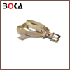 // New design women cream pu leather belt // for kids pure cow leather italy belts //