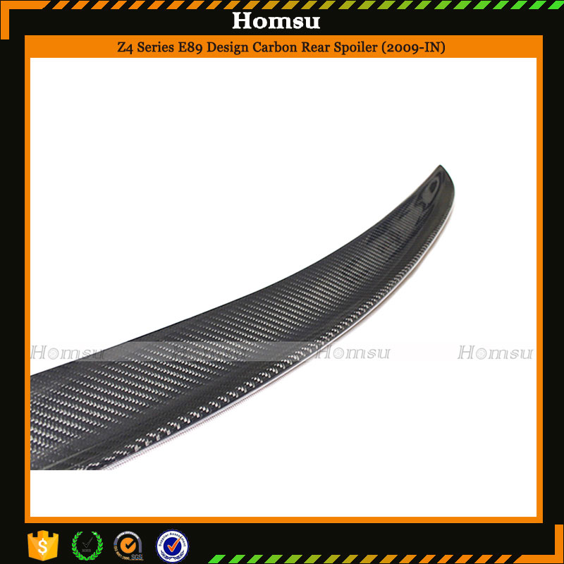 Good fitment car accessories carbon fiber trunk spoiler rear wing for 2009-2014 E89 Z4 design style for sale