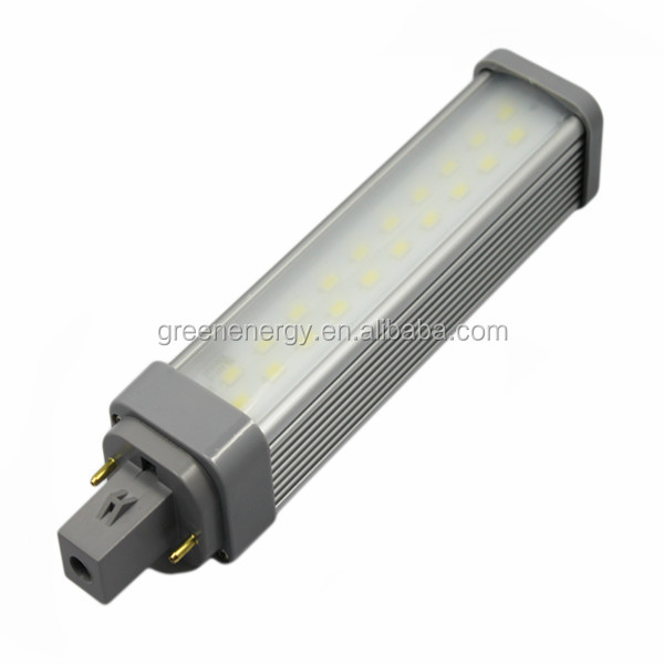 100-240v led g24 & ce led light g24d g24 to e27 10w led bulb g24