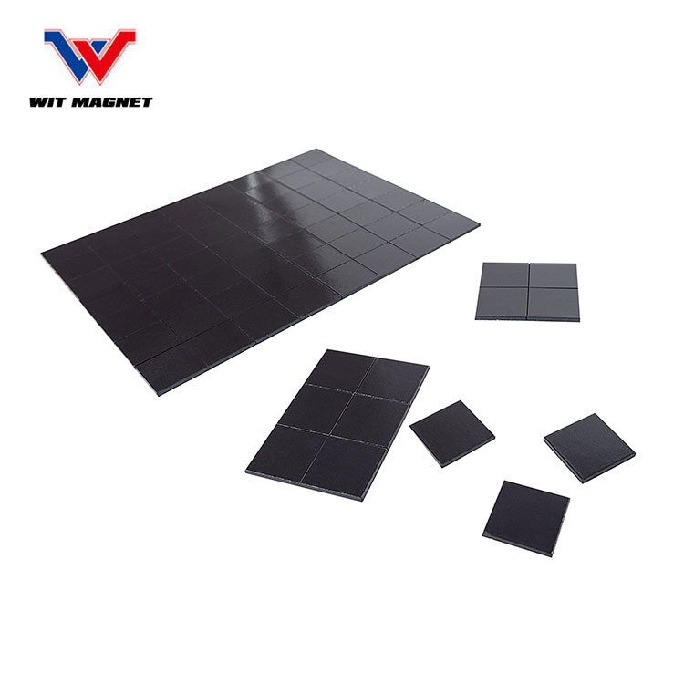 Self Adhesive Magnetic Squares Each 20x20x2mm Magnet 70 Magnetic Squares