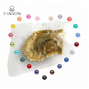 Bulk Wholesale 6-7mm Vacuum-packed MIXED COLORS Akoya Pearl Oysters for Pearl Party
