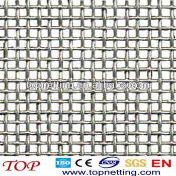 Plain Weave / Twill Weave / Stainless Steel Square Woven Wire Mesh ...