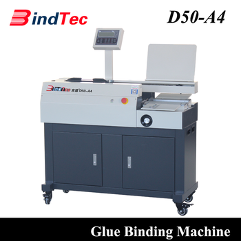 D50-A4 Adhesive Binder Type and Automatic Perfect Binding Machine