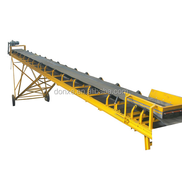 Large Conveying Capacity Extensible Belt Conveyor Price