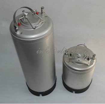 Stainless Steel 304 Ball Lock Cornelius style Beer Keg -12 Litre/3Gallon Lid with Pressure Relief Valve New Homebrewing Soda Keg