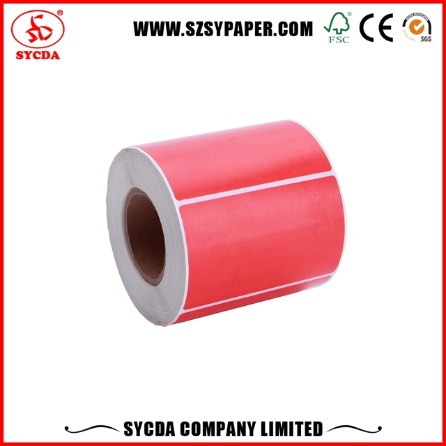 Colorful Printing Stickers Labels Self Adhesive For Industrial Use
