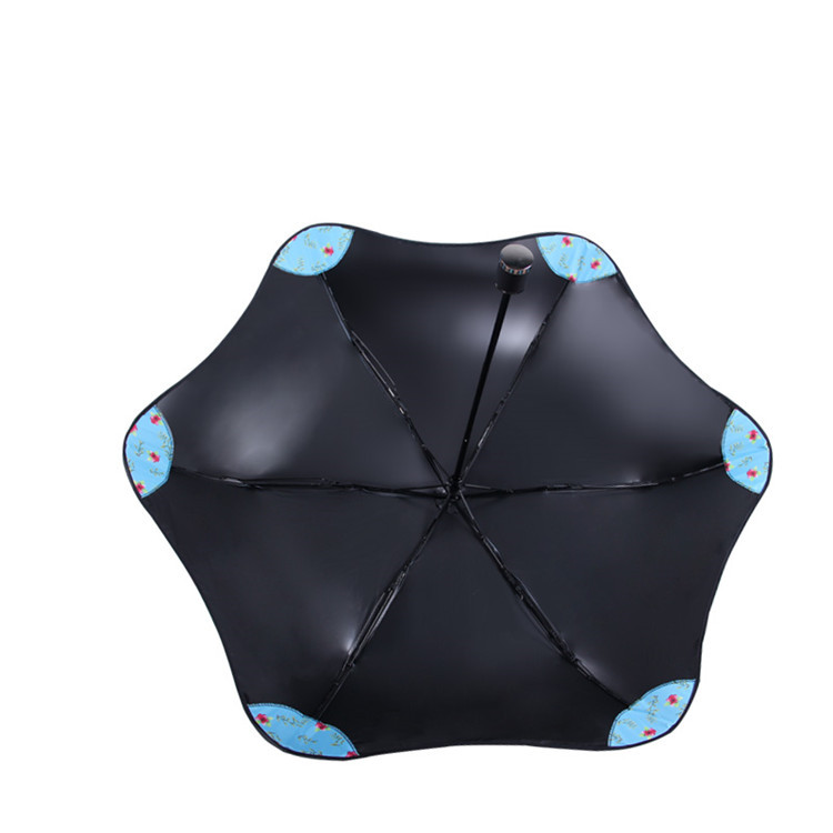 Wholesale New Design Safety Personalised Umbrella Lady Style,Folding Blunt Umbrella