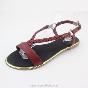 Special Custom Sandal Shoes 2016 Latest Ladies Slippers Shoes And ...
