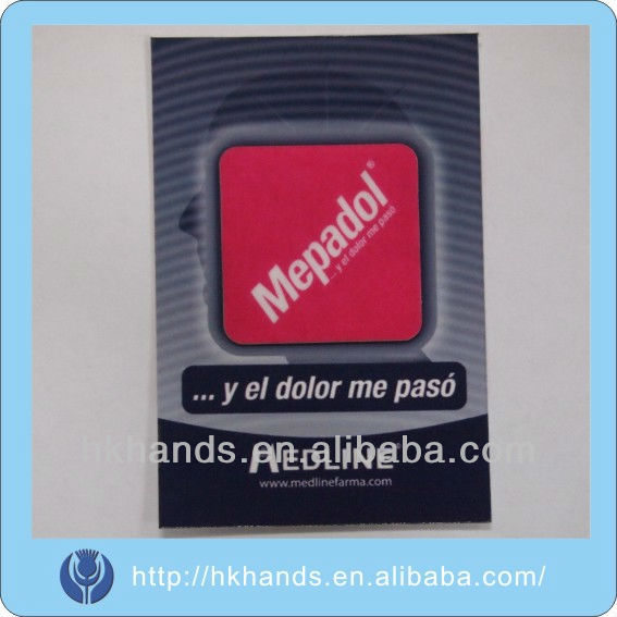 patent,practical,beautiful style,any logo is available mobile phone screen cleaner sticker