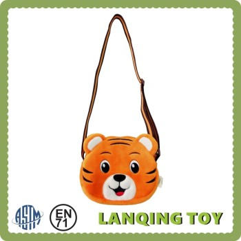 Cute Kids Girls Plush Animal Tiger Messenger Sling Bag - Buy Cute ...