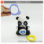 Lovely wind up baby toy bed hanging toy baby rattle bed bell bear