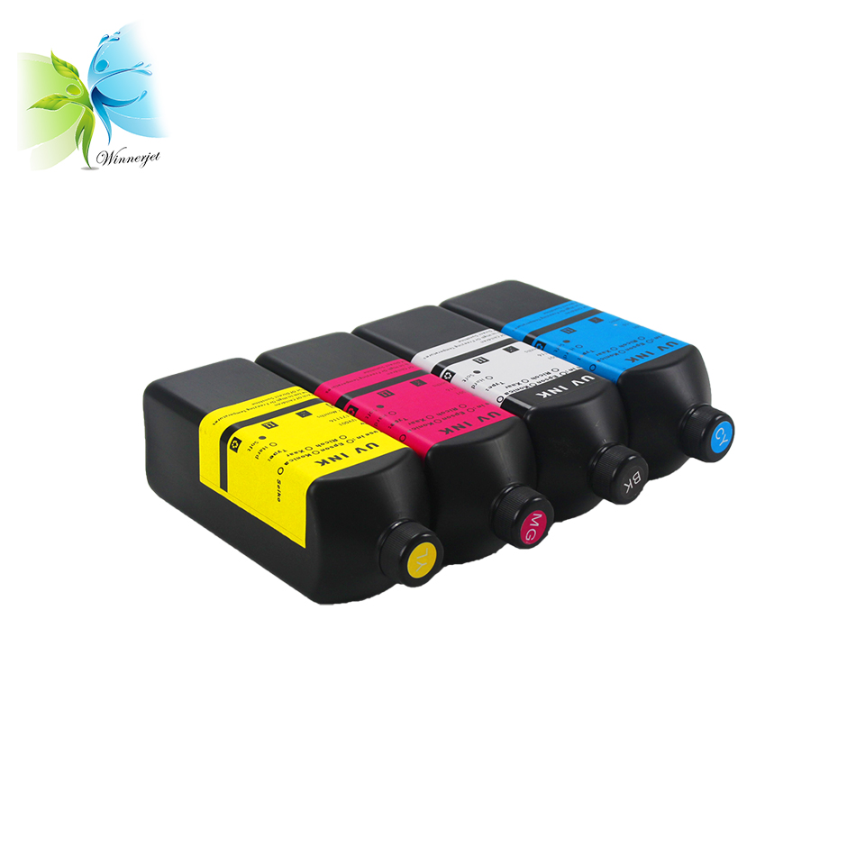 LED UV Ink for Epson L1300 modified UV Flatbed Printer for Cellphone Case  PVC card Printing, View LED UV Ink for Epson L1300, WINNERJET Product