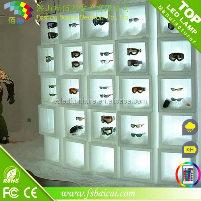 Customize Plastic LED Cube