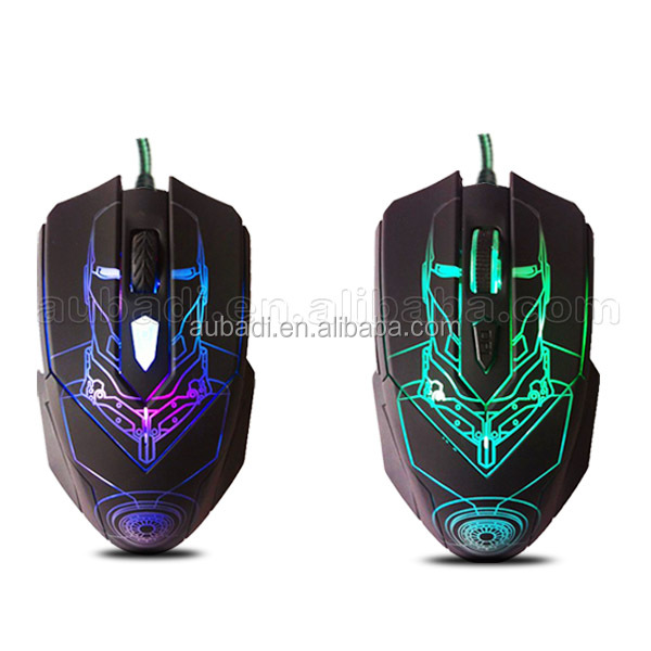 High Performance Quality 5600 DPI both hands gaming mouse laser