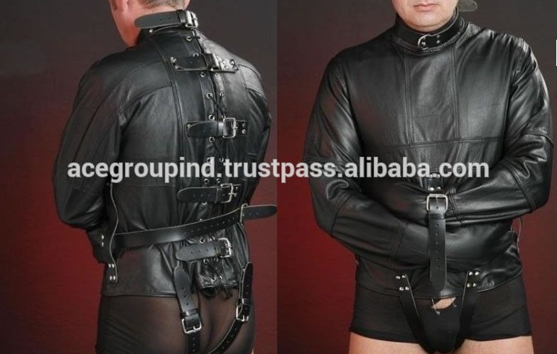 Straight Leather Jacket - Jacket