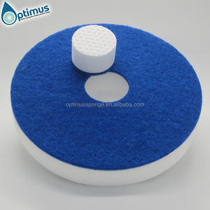 16-20 inch Quality Round Melamine Foam Pads Polishing Floor Cleaning Pads