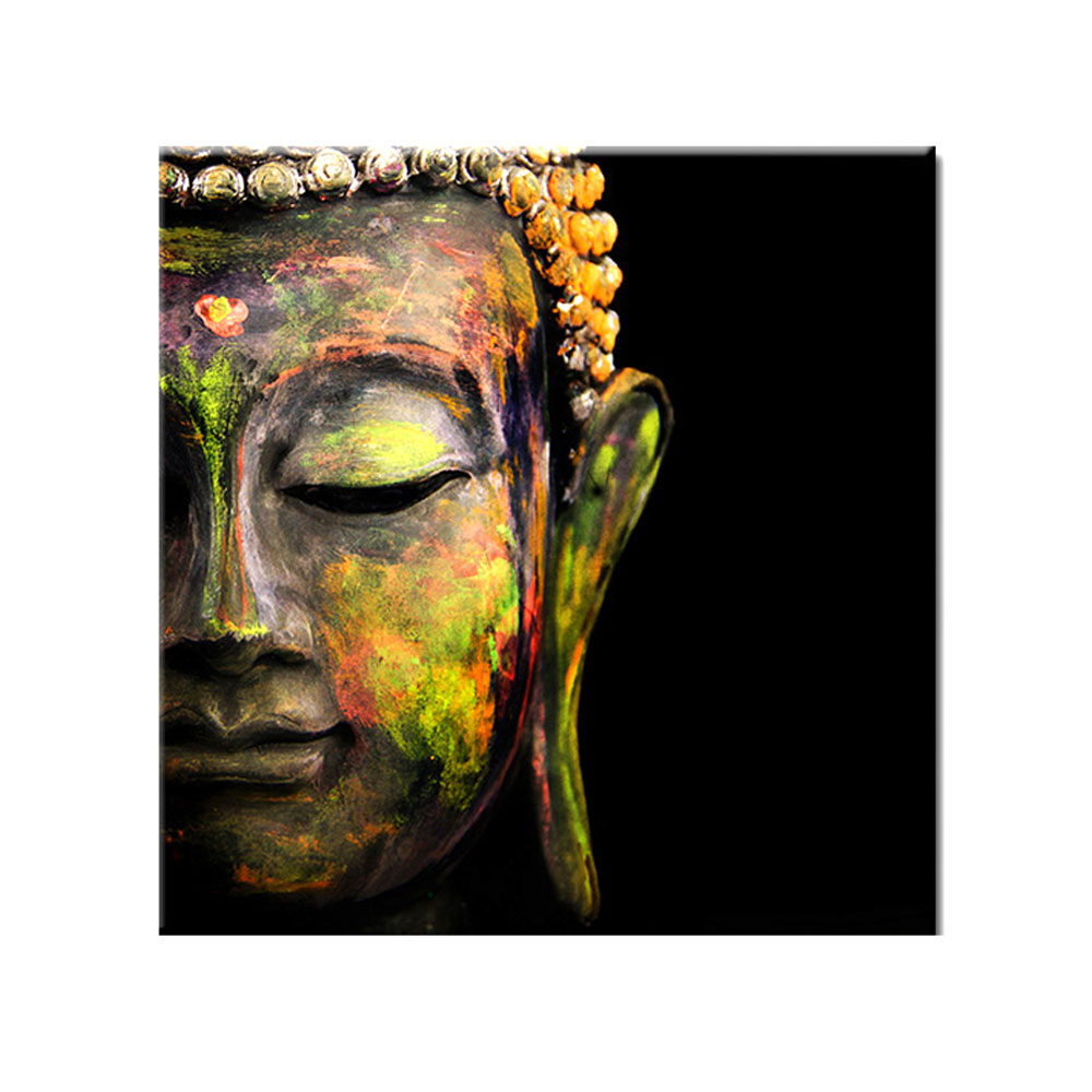 Hot Selling 1 Piece Hd Modern Buddha <strong>Pictures</strong> Decorative Wall Art Canvas Print Oil Painting