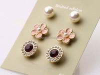 Zircon Skull Stud Earrings,China Supplier Jewelry Earring Stud ...