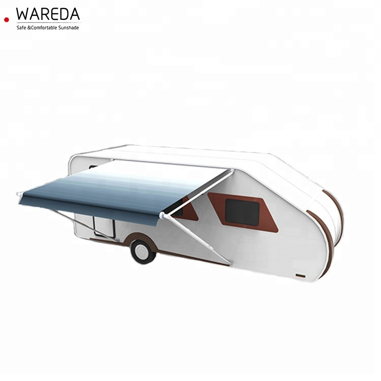 Caravan portico tenda all'aperto roll out caravan baldacchino camper lato tenda