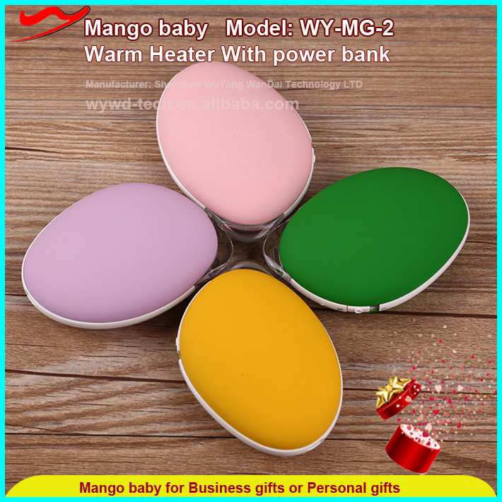 Portable hand warmer / good promotion customized wedding gift ideas for friends